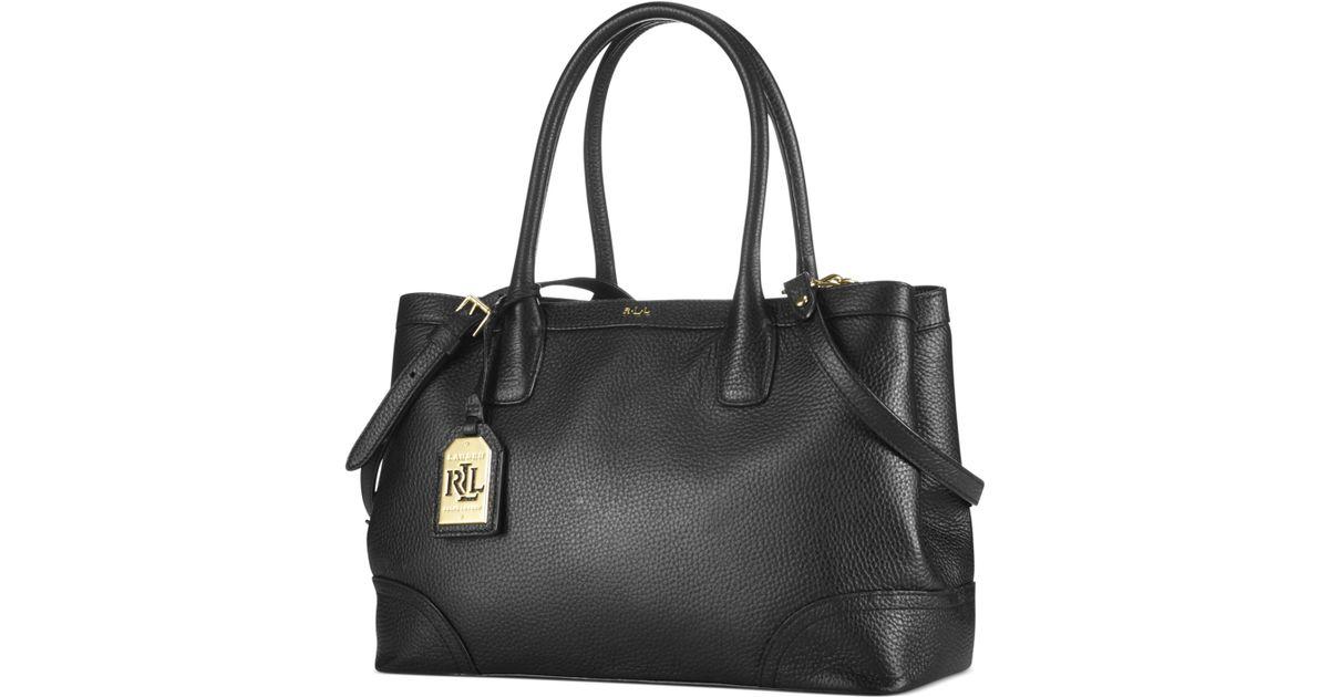 Lyst - Lauren by Ralph Lauren Fairfield City Shopper in Black 72fd24ba8c028