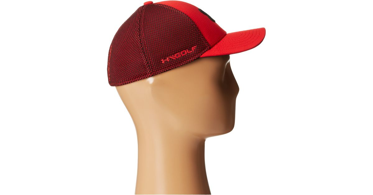 Lyst - Under Armour Ua Classic Mesh 2.0 Stretch Fit Cap (youth) in Red for  Men ad07a4062ea