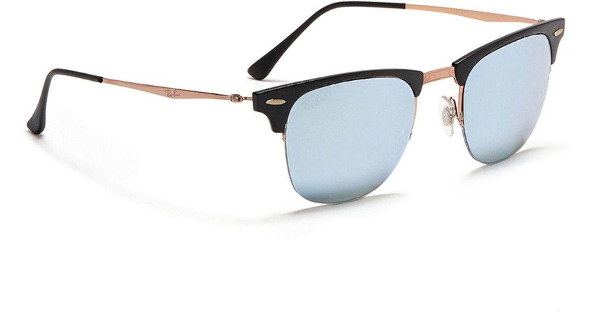Lyst - Ray-Ban \'clubmaster Light Ray\' Titanium Temple Matte Browline ...