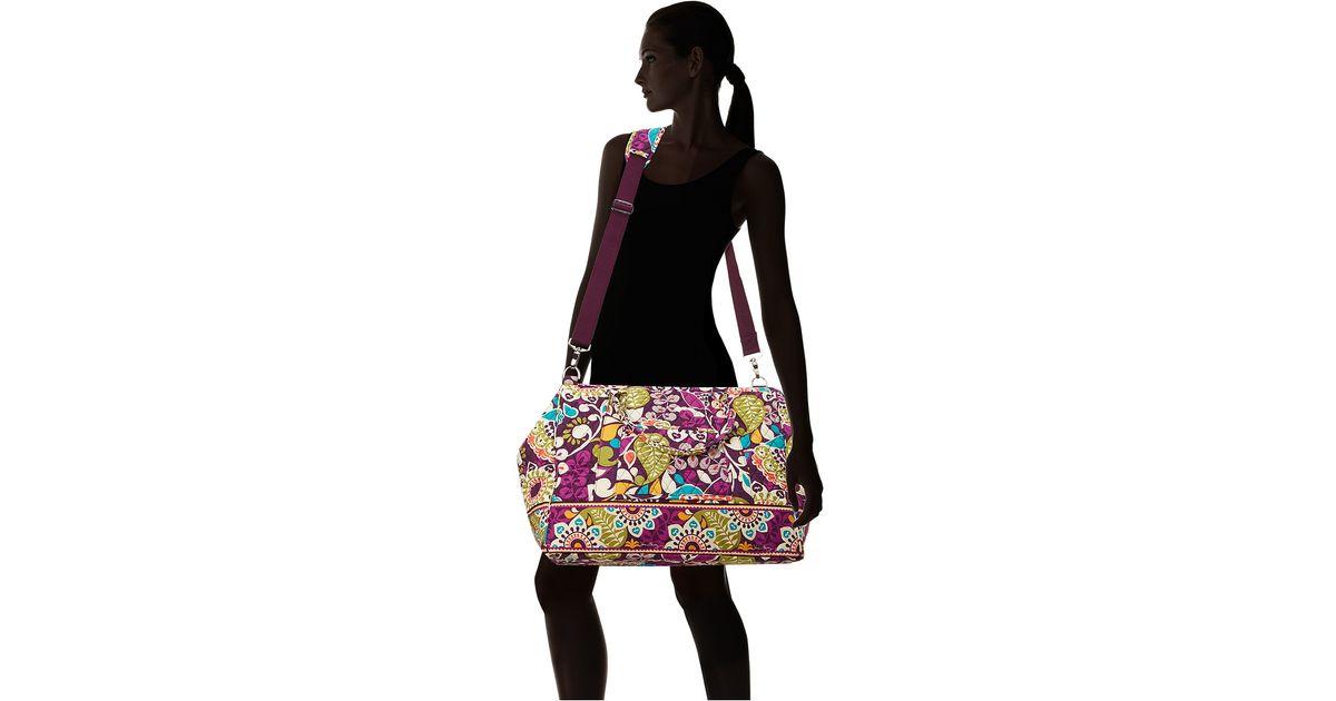 Lyst - Vera Bradley Luggage Frame Travel Bag in Purple
