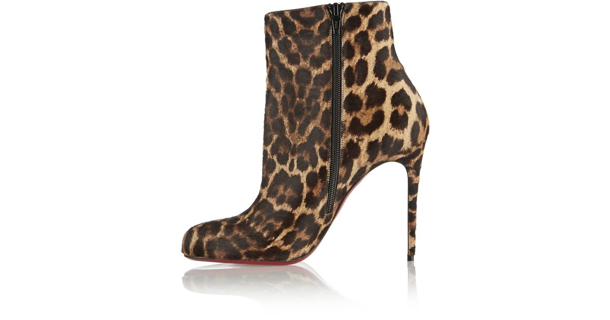christian louboutin leather lastoto booties