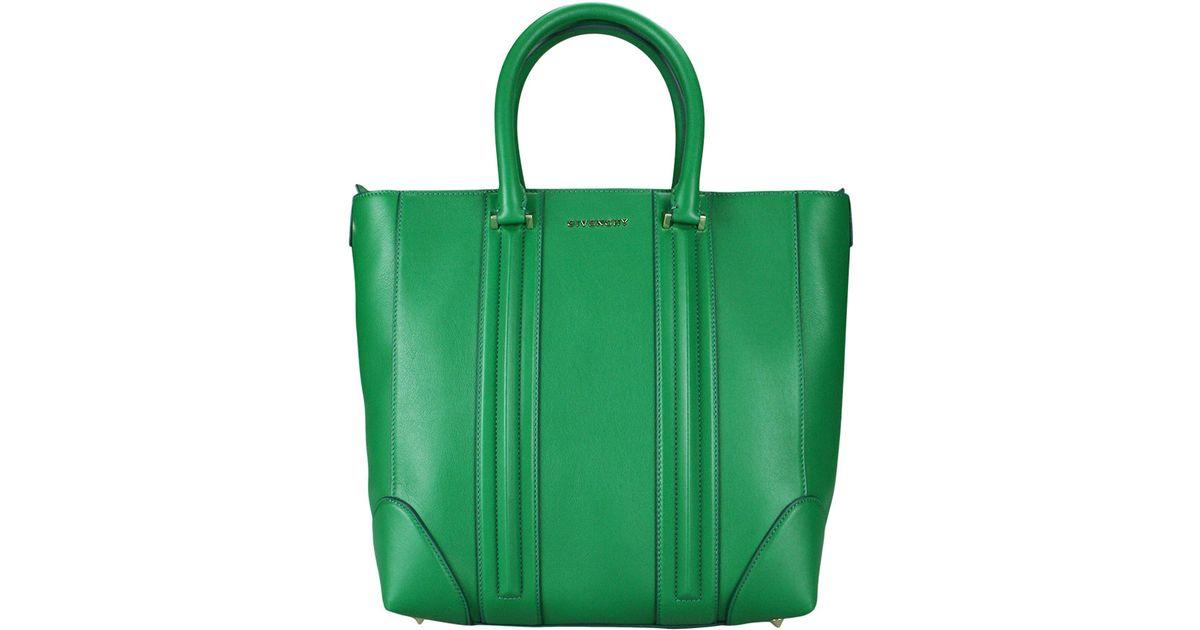0e5dfef122 Givenchy Lucrezia Medium Bag in Green - Lyst