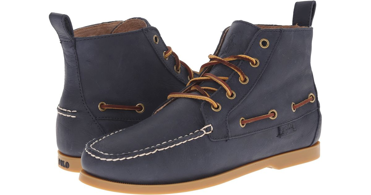 New Style Men Polo Ralph Lauren Barrott Dark Brown Waxy Pull Up boots V81Hx BUj