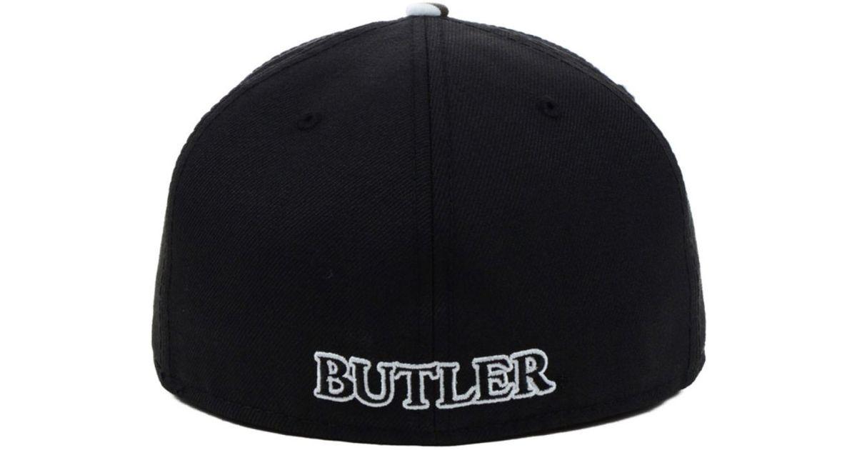 6b5e5372b07 Lyst - KTZ Butler Bulldogs Urban Camo 59Fifty Cap in Black for Men