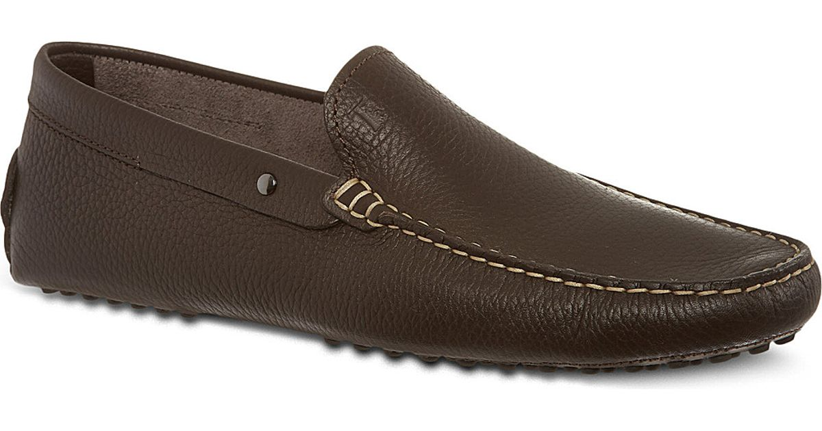 7cd2cbb3153 Lyst - Tod s Gommino Driving Shoes In Leather in Brown for Men