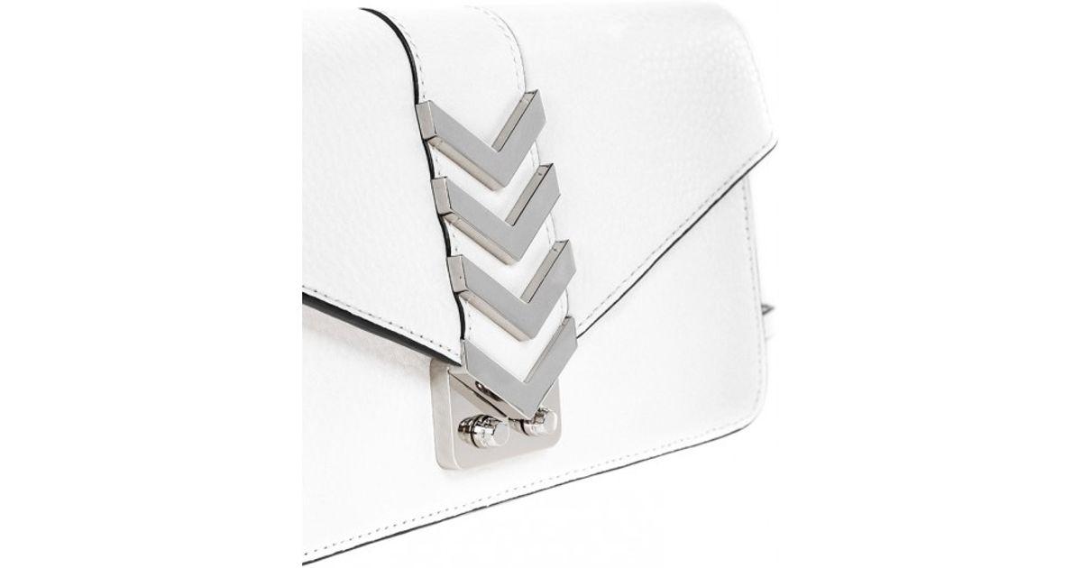 cda0521ac3 ... coupon code for lyst mackage nynna c white mini envelope crossbody bag  in white f76eb 99b69
