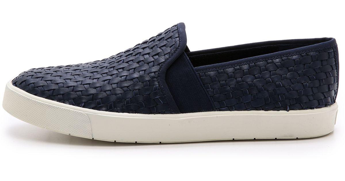 Aus Deutschland Niedrig Versandkosten VINCE - Sneaker low - indigo Billig Authentisch Auslass Footaction Günstiger Preis Günstig Kaufen 2018 Verkauf Billig YLApS4sM