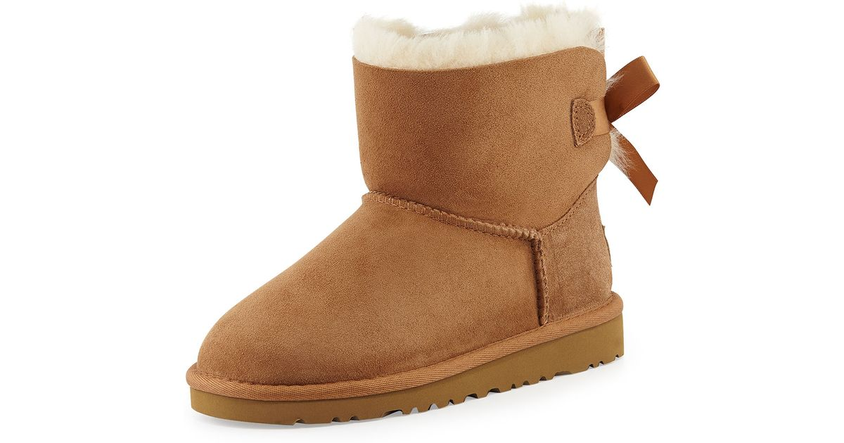 uggs with bows short