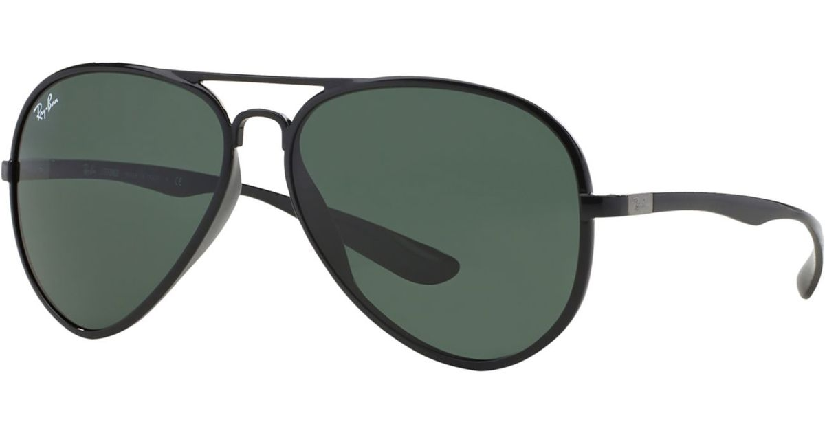 de47544387 Lyst - Ray-Ban Rb4180 59 Aviator Liteforce in Green for Men