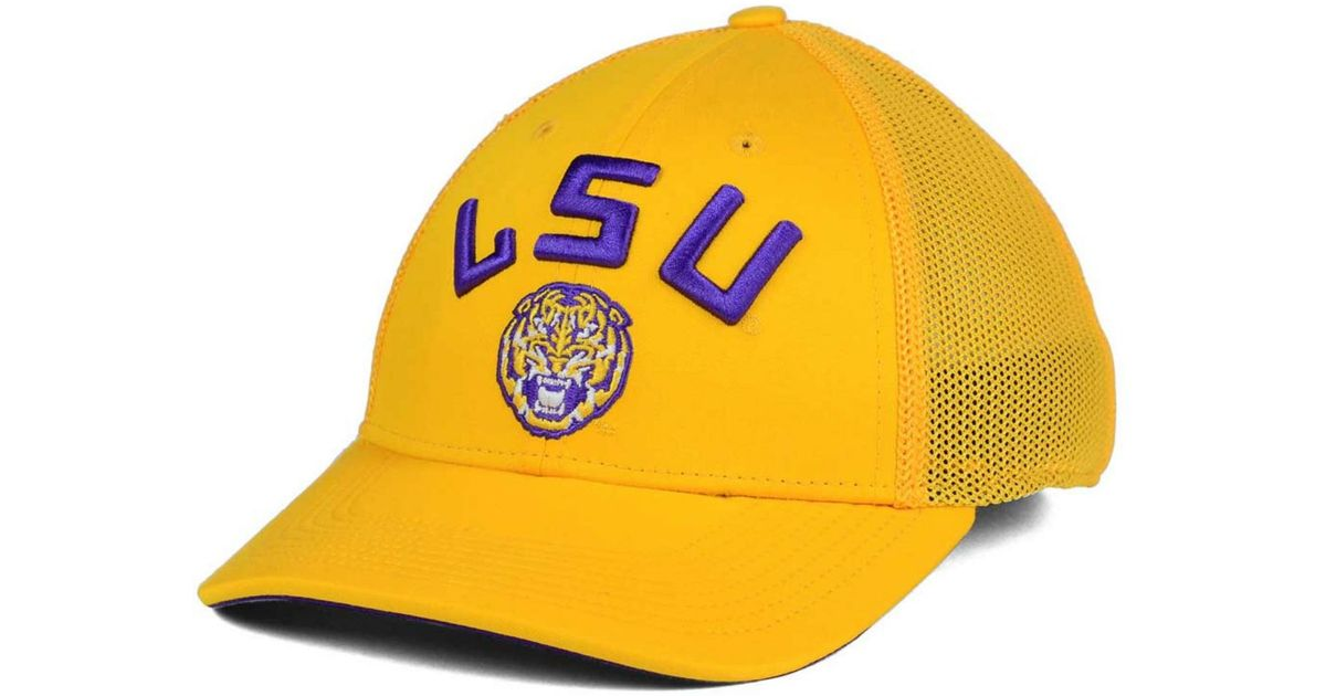 cheaper 2c2b5 25eb6 Lyst - Nike Lsu Tigers L91 Mesh Swoosh Flex Cap in Purple for Men