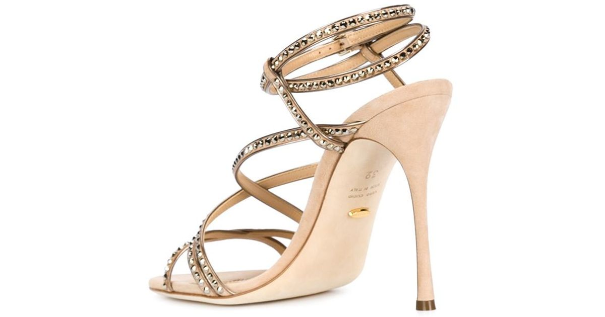 cheap sale recommend Sergio Rossi crystal embellished sandals free shipping pick a best with mastercard cheap online outlet pre order shopping online clearance pD8mQV