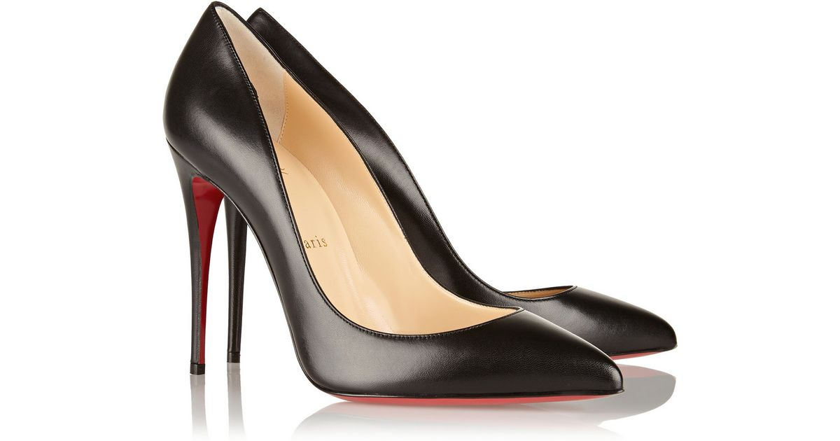 louboutin pigalle 100 black