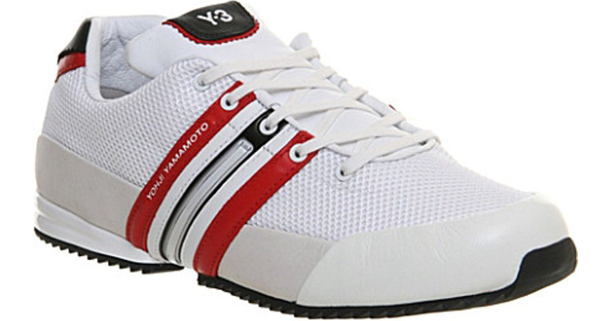 d8a81acf4b88 Y-3 Y3 Sprint Trainers - For Men in White for Men - Lyst