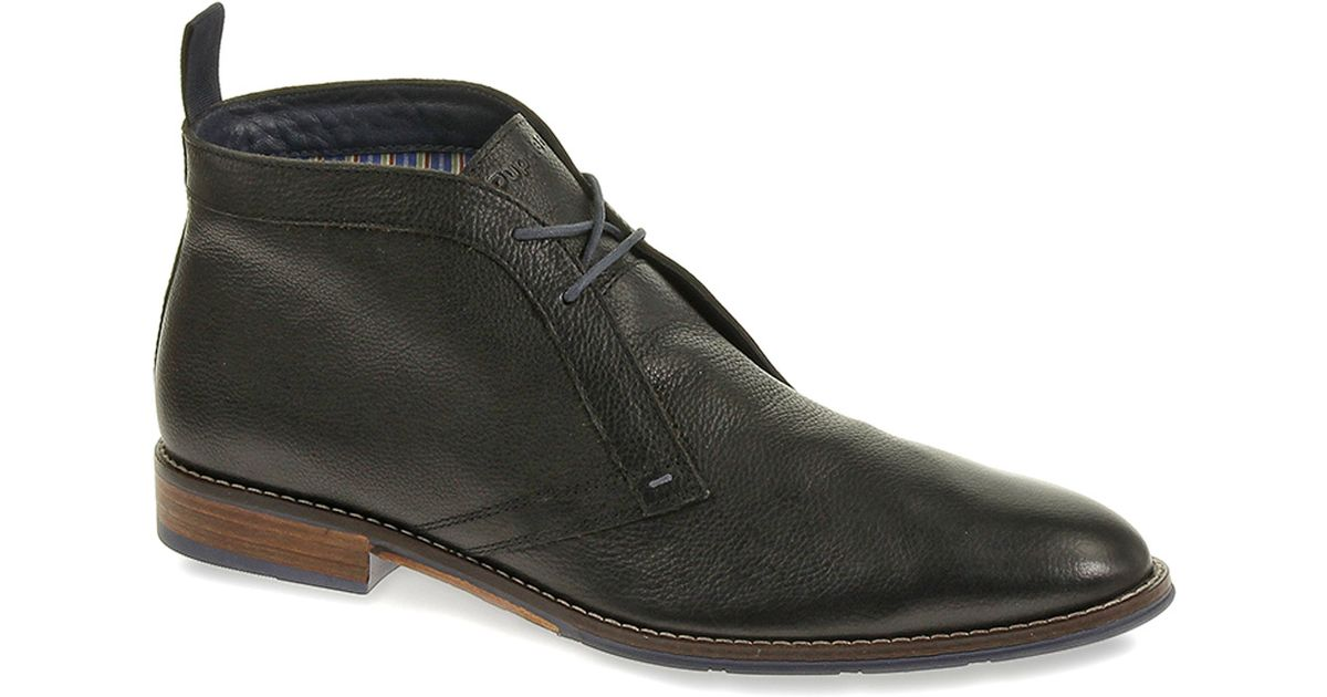 4733ab58 Hush Puppies - Black Style Chukka Pl for Men - Lyst