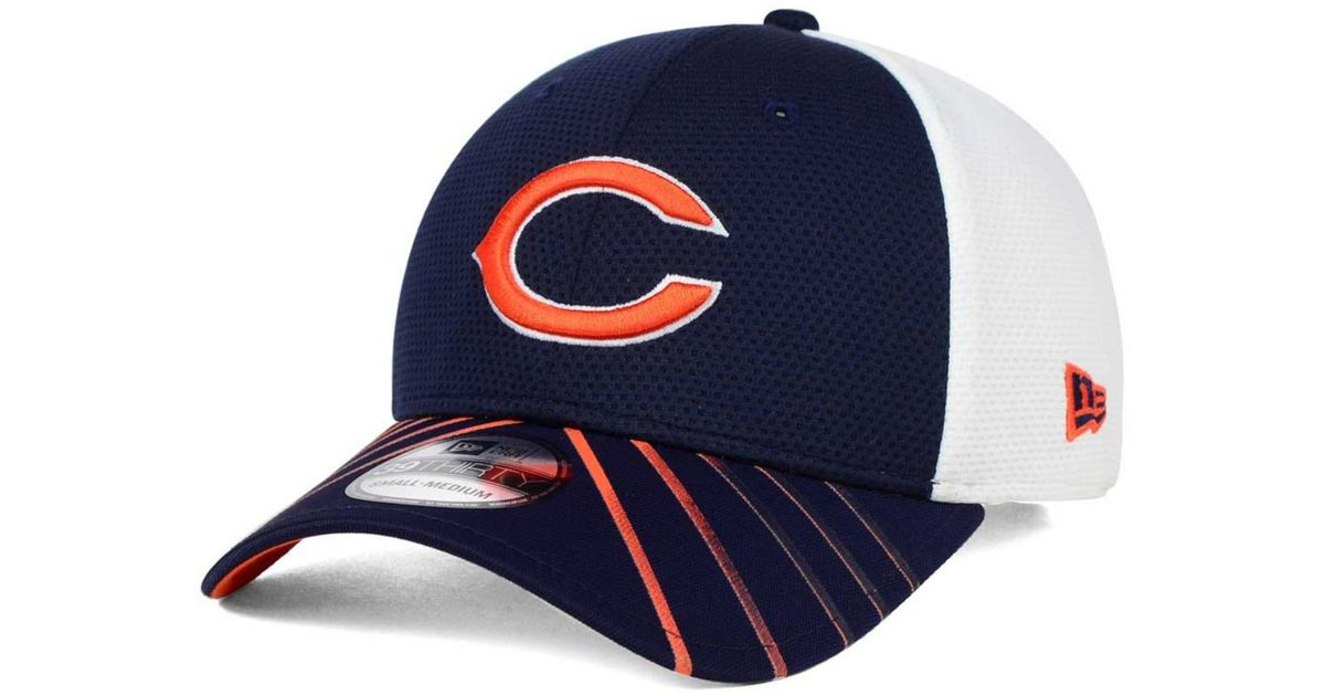 new product c9942 58684 Lyst - KTZ Chicago Bears Fade Back Mesh 39thirty Cap in Blue for Men