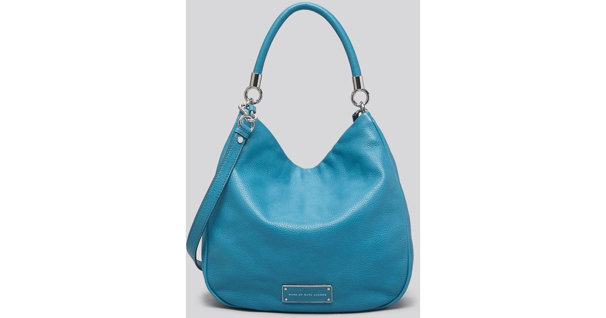 Marc Jacobs Hobo Laukku : Marc by jacobs hobo too hot to handle in blue lyst