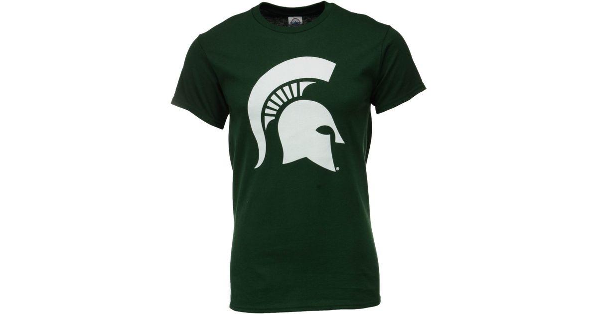 J america men 39 s michigan state spartans big logo t shirt for Michigan state spartans t shirts