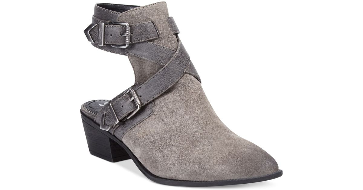 96dbce2a154002 Lyst - Circus by Sam Edelman Hallie Booties in Gray