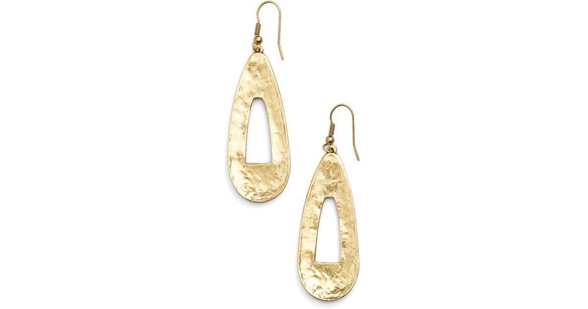 Womens Karine Sultan Drop Earrings
