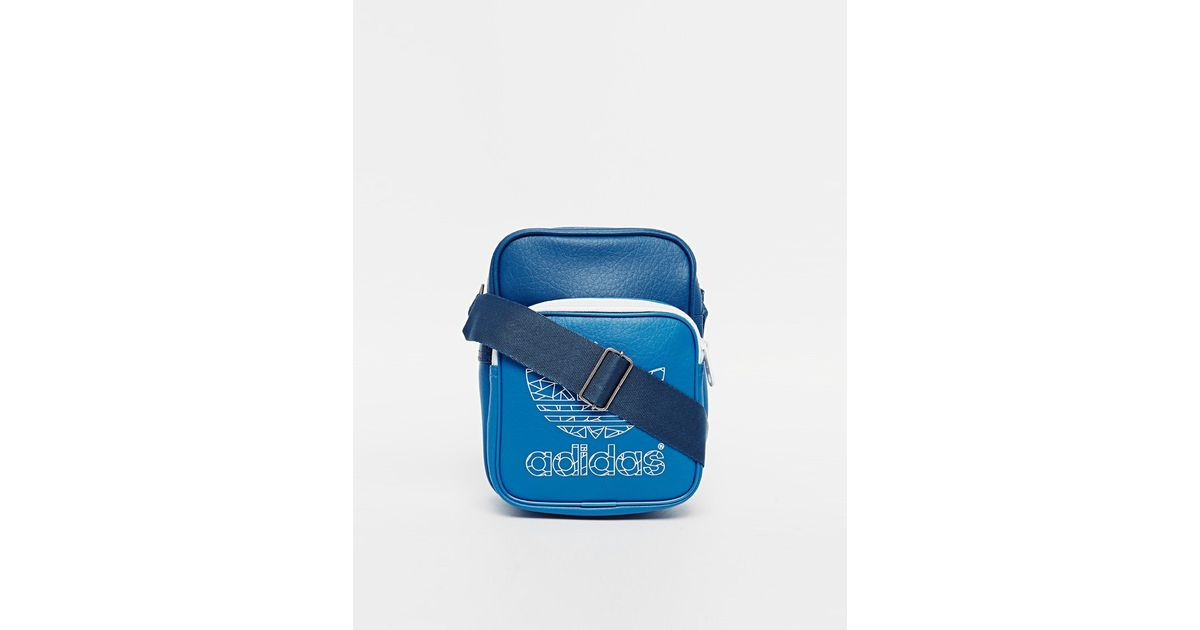 660839c5bd Lyst - Adidas Originals Flight Bag in Blue for Men