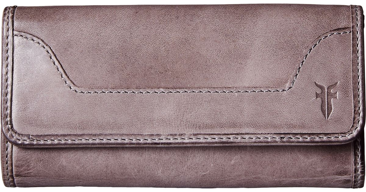 Frye Melissa Wallet In Pink Ice Antique Pull Up Lyst