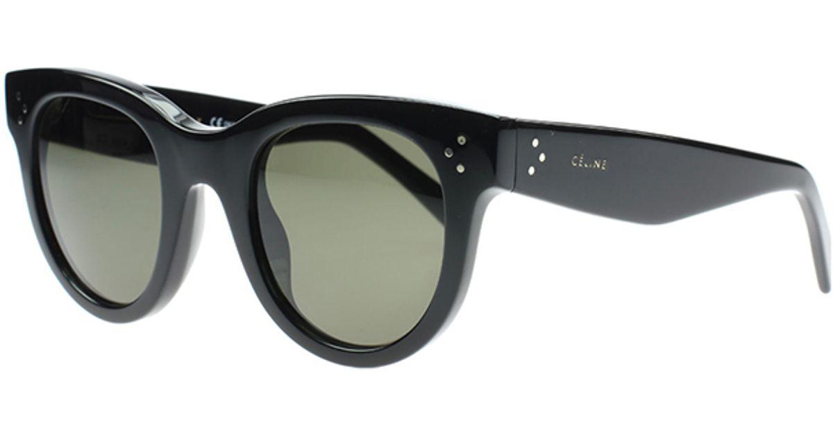 376d1e9568cc Lyst - Céline Baby Audrey Sunglasses in Black