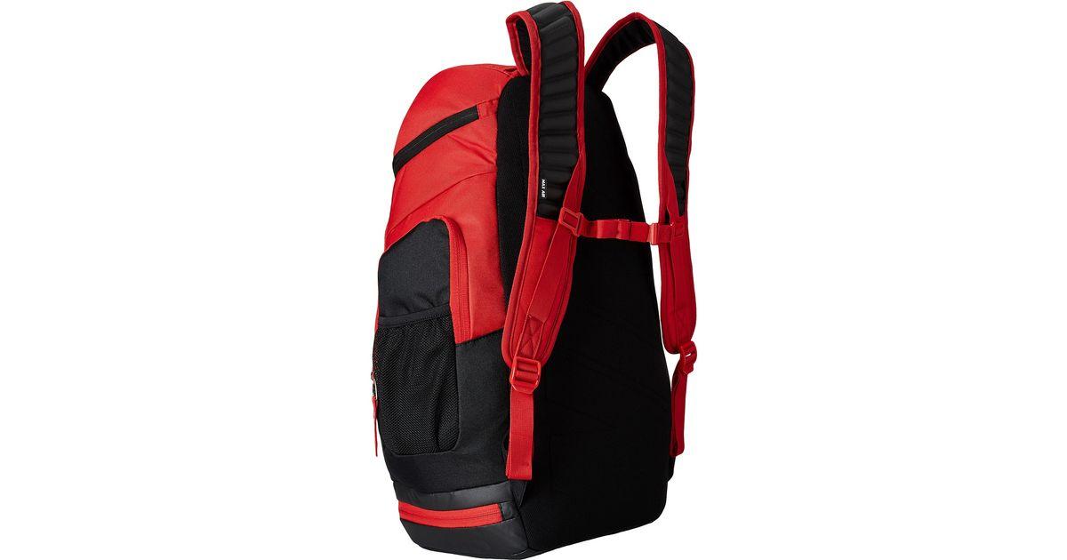 d393ae8f36 Lyst - Nike Hoops Elite Max Air Team Backback in Red