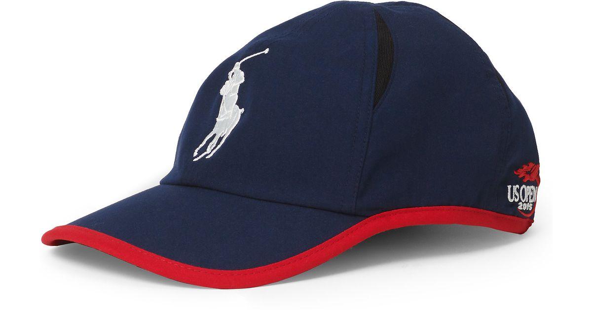 Lyst - Polo Ralph Lauren Us Open Crosscourt Hat in Blue for Men e2cebefa296