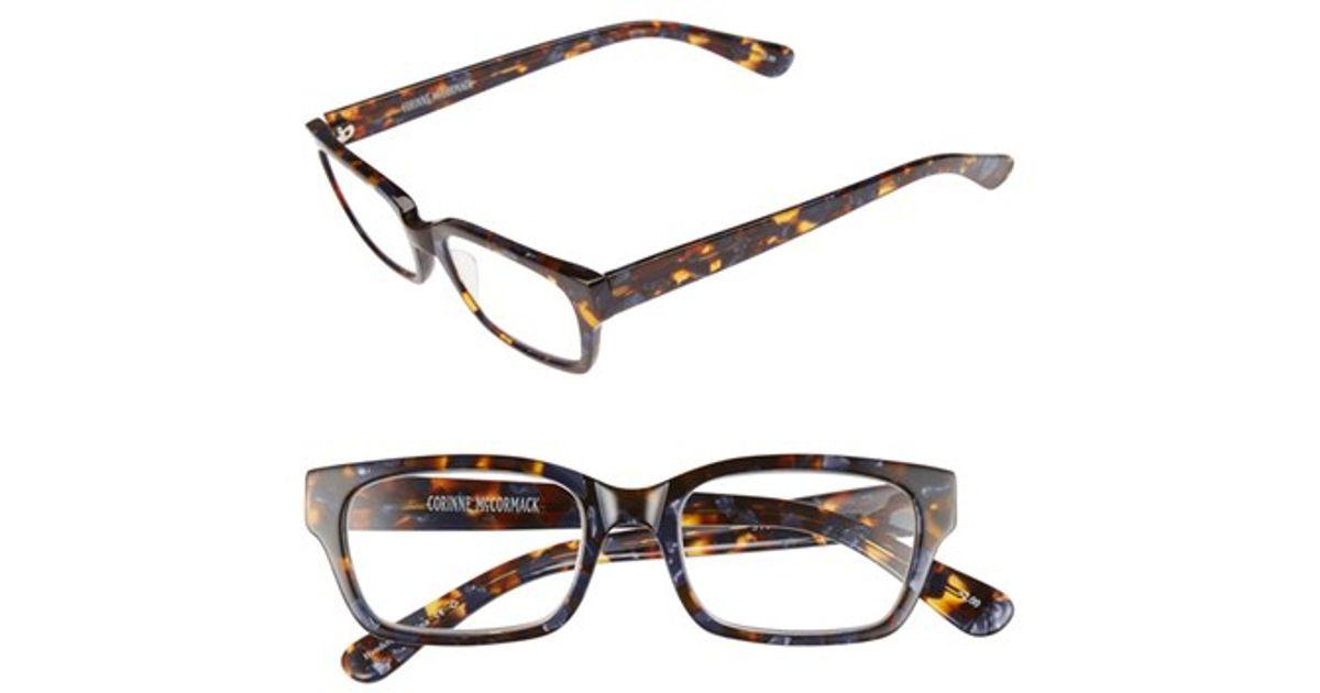 corinne mccormack sydney 51mm reading glasses navy