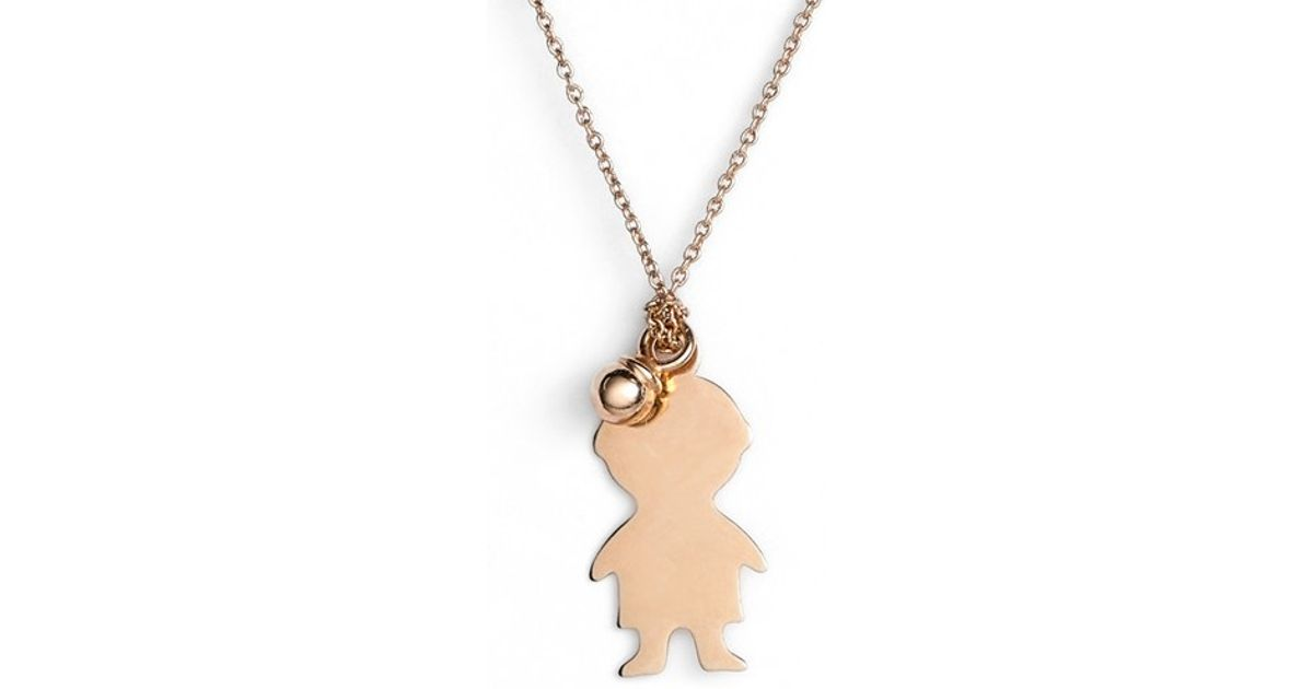 charm klein products boy large lauren diamond necklace yhst yellow gold little