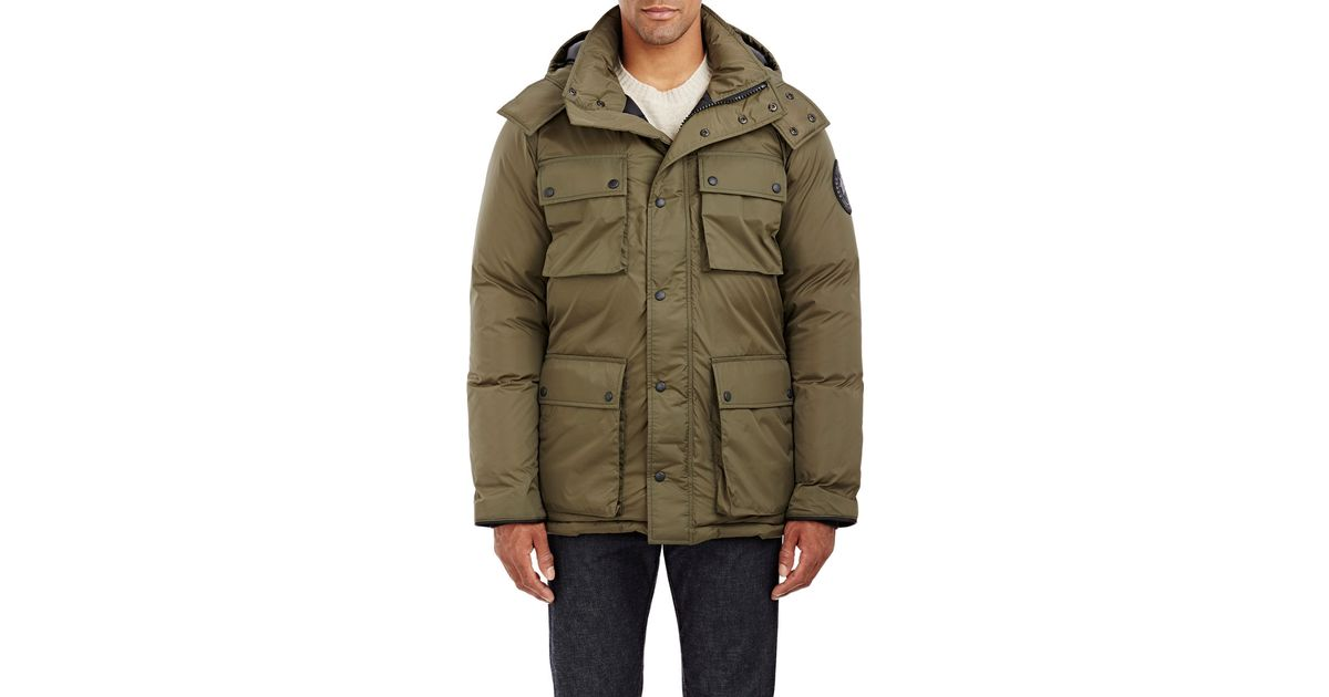 Lyst - Canada Goose Ripstop Manitoba Parka in Green for Men c6891f6725ab