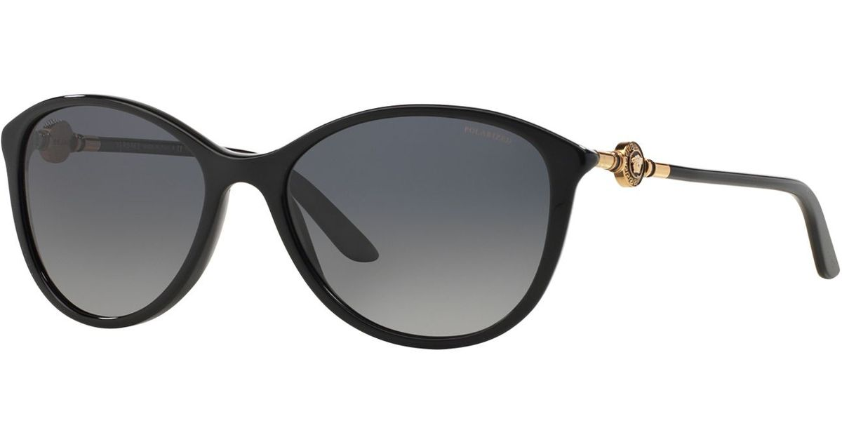 9c8650e59b65a Black Versace Eyeglasses - Overstock.com. Versace VE 2150Q 100271 Gold And  Black Metal Aviator Sunglasses ...