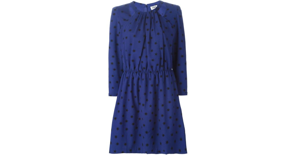 acd83a8c1cf93 sonia-by-sonia-rykiel-blue-star-print-flared-dress -product-1-355334067-normal.jpeg