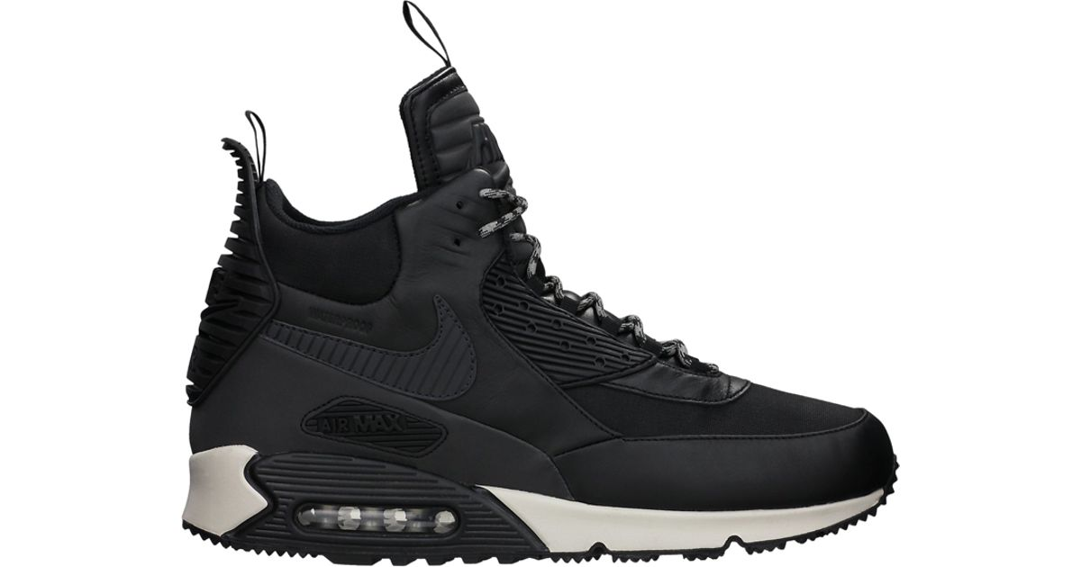 online store fa73a d0b58 Nike - Black Air Max 90 Sneakerboots for Men - Lyst