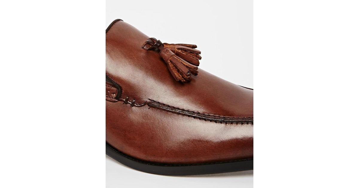 6f7de91287d Lyst - ALDO Bayley Tassel Loafers in Brown for Men