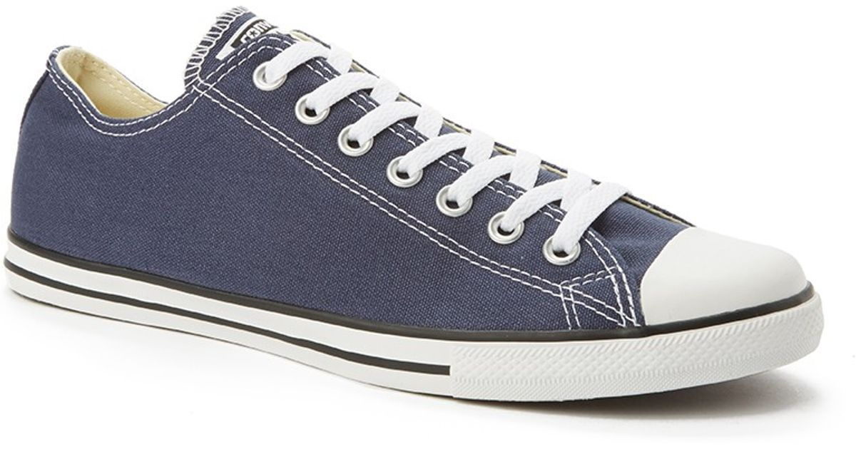 finest selection 2350d a22cf Converse Chuck Taylor All Star Lean Plimsolls Grey in Blue for Men - Lyst