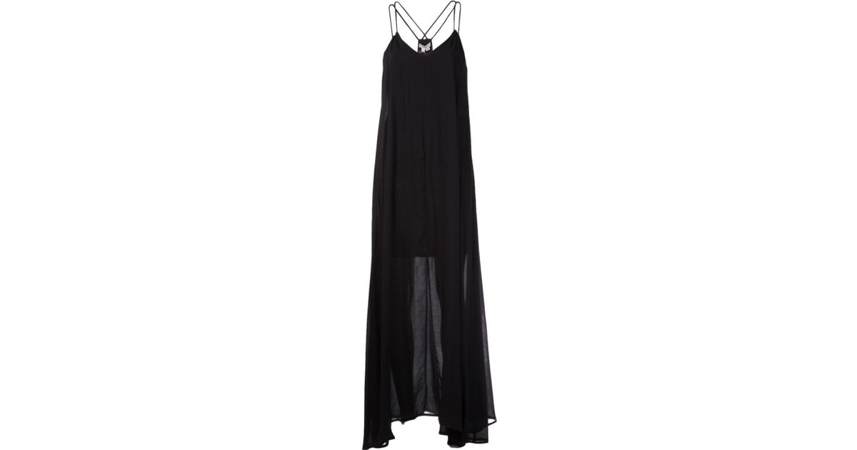 Lyst Bella Luxx Trapeze Maxi Dress In Black