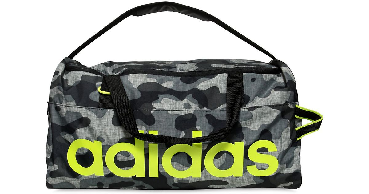 c32167409d87 Lyst - adidas Originals Performance Camo Nylon Ripstop Gym Bag in Gray for  Men