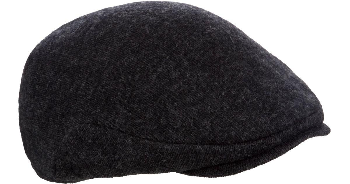 85fcb86f5 Polo Ralph Lauren - Gray Wool Blend Flat Cap for Men - Lyst