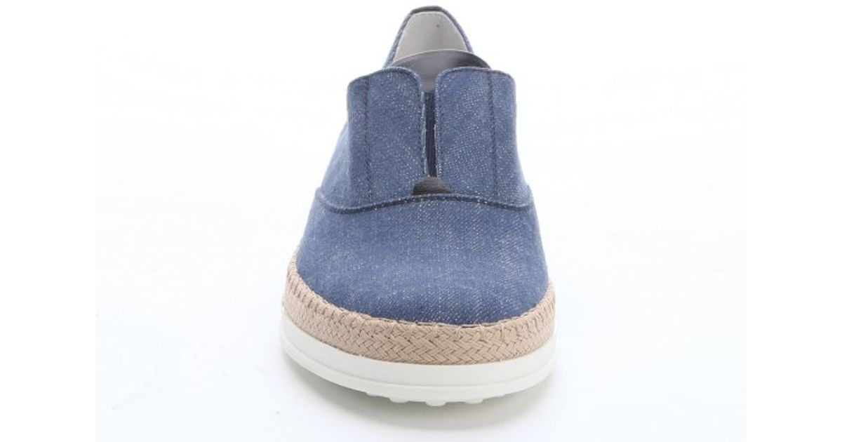 Slip-On in Denim Tod's Inexpensive For Sale Eastbay For Sale Shopping Online Free Shipping View Low Cost Online qo8dP