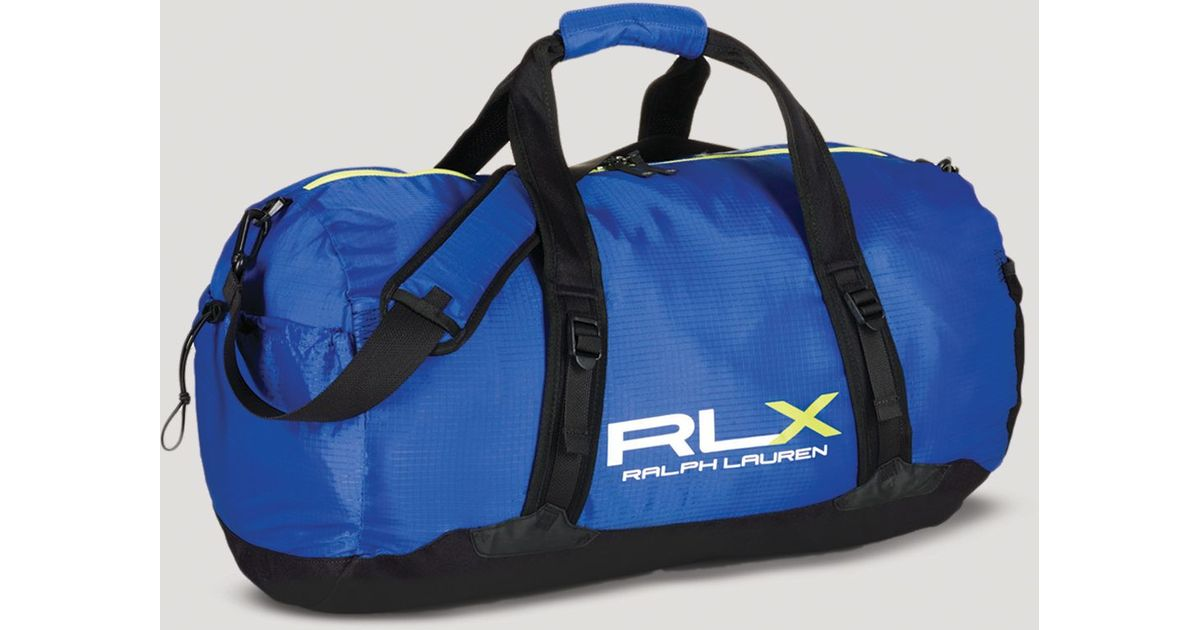 2feccc4ed3 Lyst - Ralph Lauren Polo Rlx Lightweight Packable Duffel Bag in Blue for Men