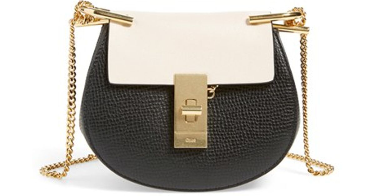 the best purse - drew bag in crocodile embossed calfskin