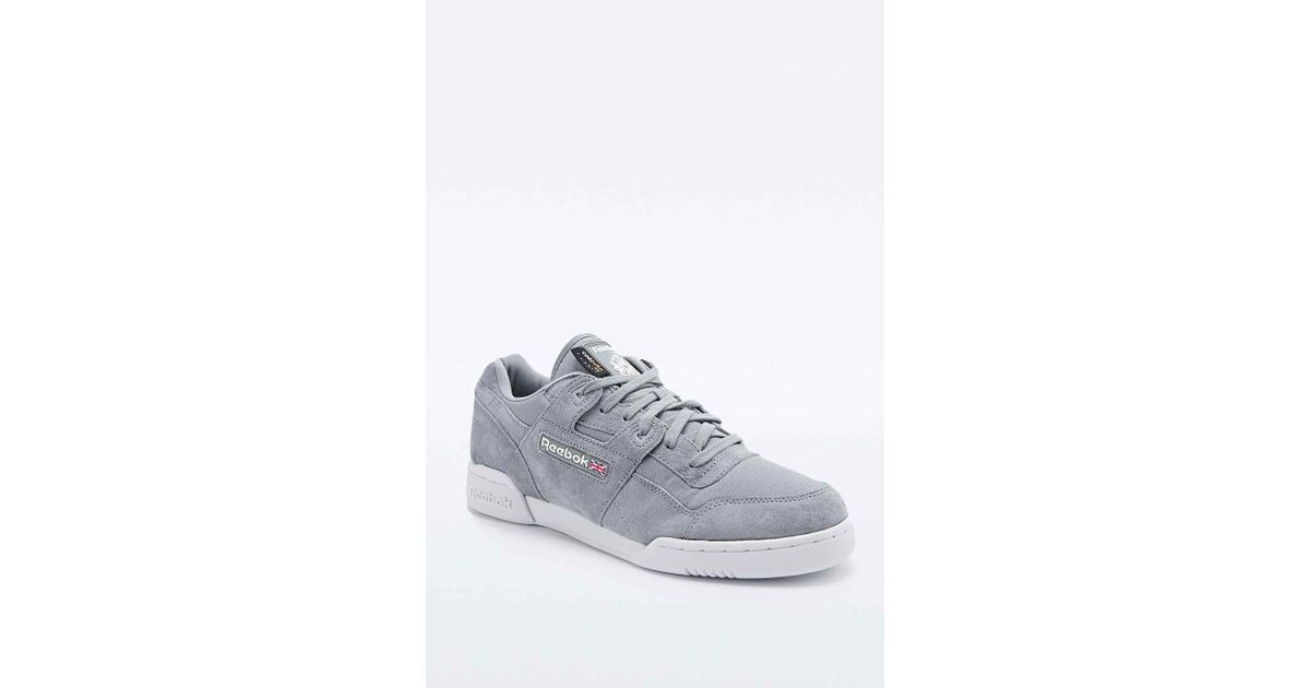 a82934e577bff Reebok Workout Plus Cordura Trainers In Grey in Gray for Men - Lyst