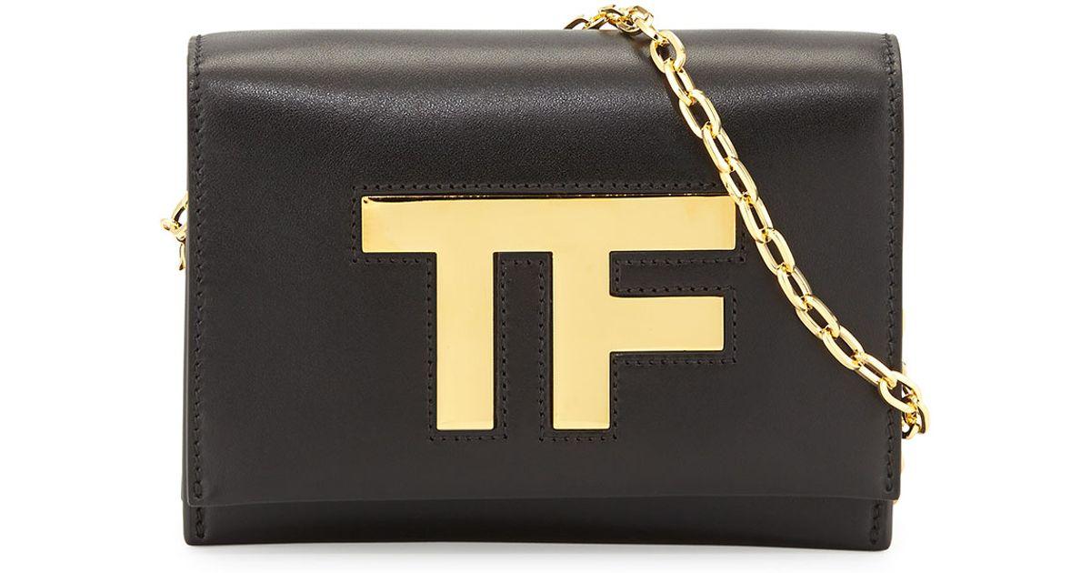 Lyst - Tom Ford Tf Small Chain Crossbody Bag in Metallic b07462642aa02