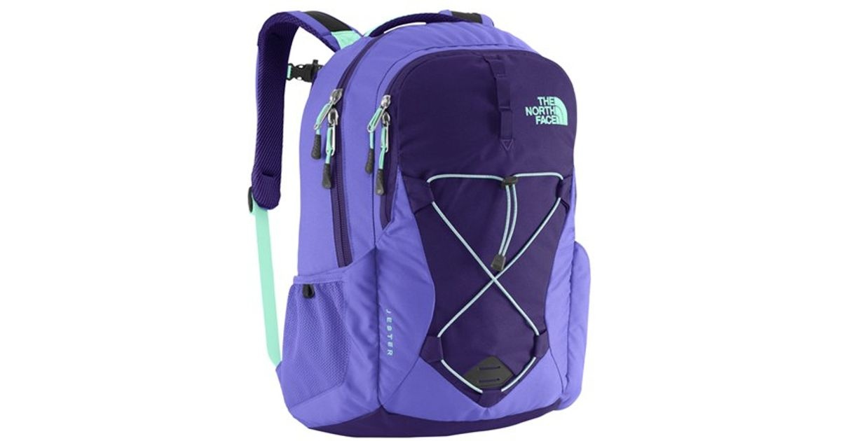 d944f6b1bd ... borealis woman 25 l crown blue budding green. Lyst The North Face  Jester Backpack Purple In
