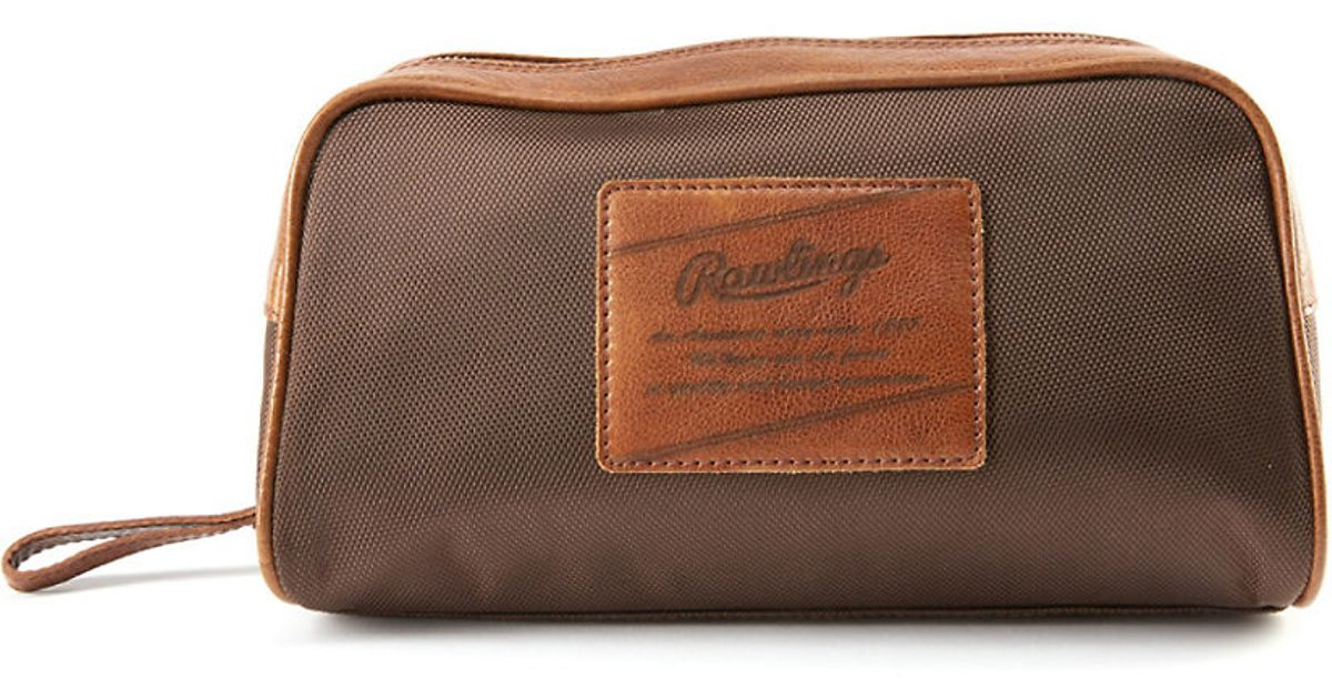 ba7d28961e81 Lyst - Rawlings Rugged Nylon Travel Case in Brown for Men