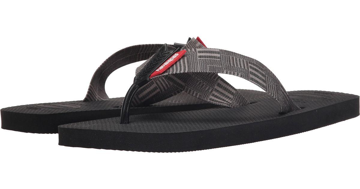 5d79dcfb34c1 Lyst - Havaianas Urban Series Flip Flops in Black for Men - Save 24%
