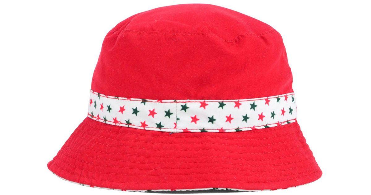 8ddb4e39c5d6f ... promo code for lyst ktz kids minnesota wild reversible bucket hat in  red d6396 7641b ...