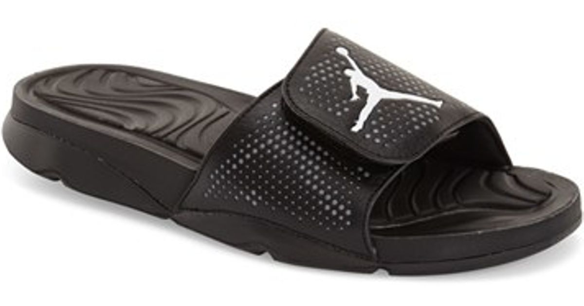 728b7f5edf6a93 Lyst - Nike  jordan Hydro 5  Sandal in Black for Men