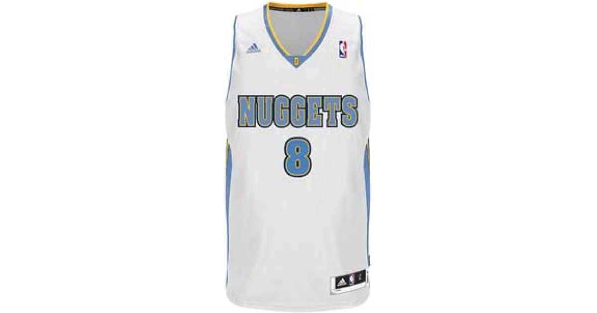 quality design a6e87 391ab Adidas - White Men's Danilo Gallinari Denver Nuggets Swingman Jersey for  Men - Lyst